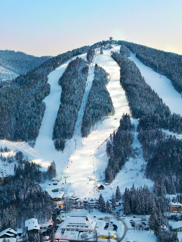 Sizzling New Ski and Spa Resorts