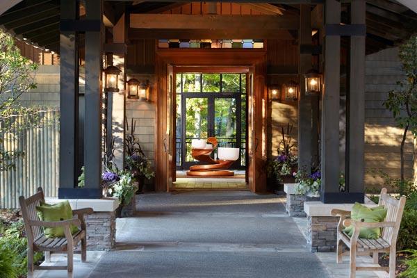 The Lodge Entrance