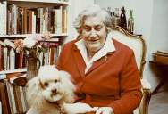 Erna Low at home (1980s)